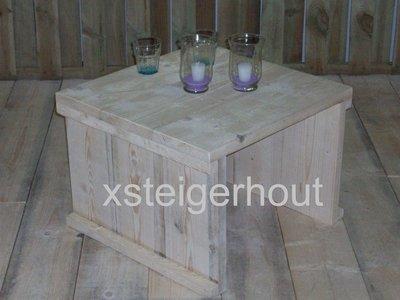 Tuintafel bouwpakket xsteigerhout for Bouwpakket steigerhout