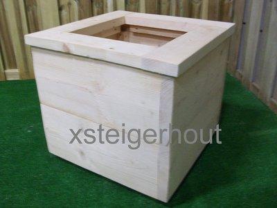 Plantenbak xsteigerhout for Bouwpakket steigerhout