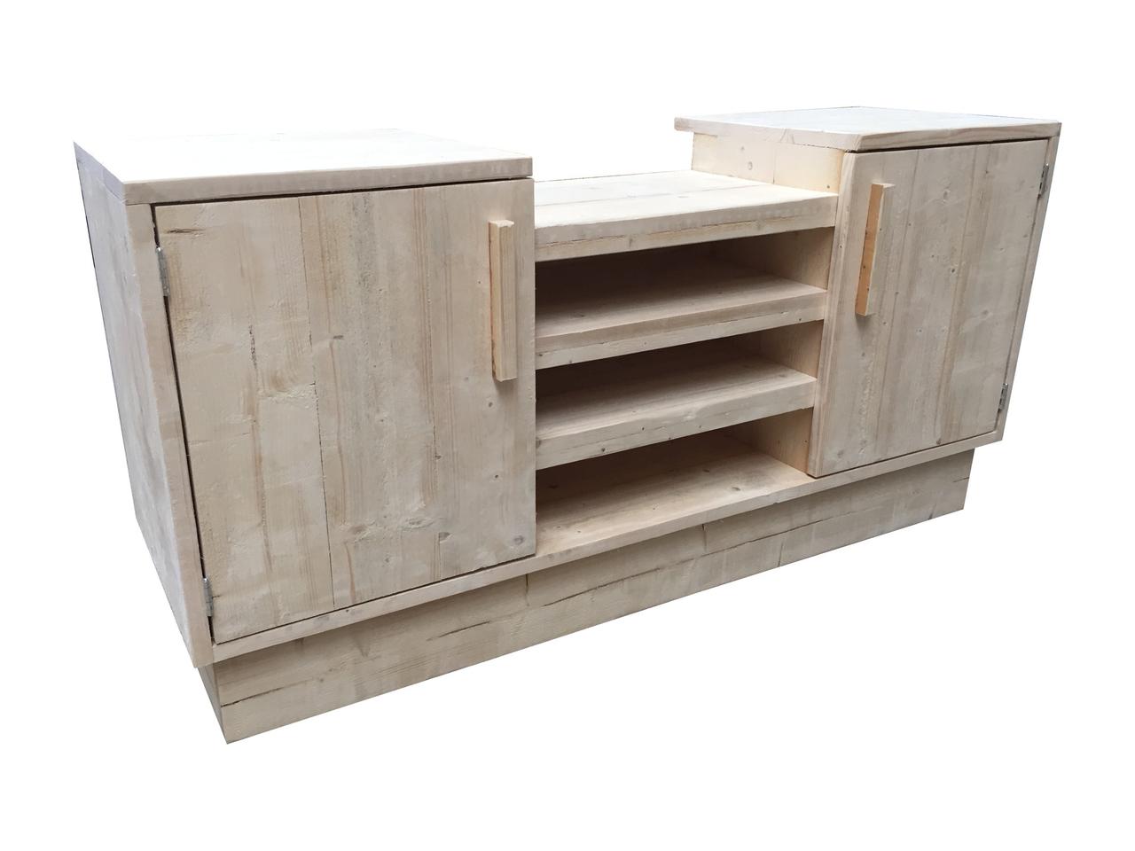Wonderbaar Barbecue meubel steigerhout bouwpakket - xsteigerhout PY-51
