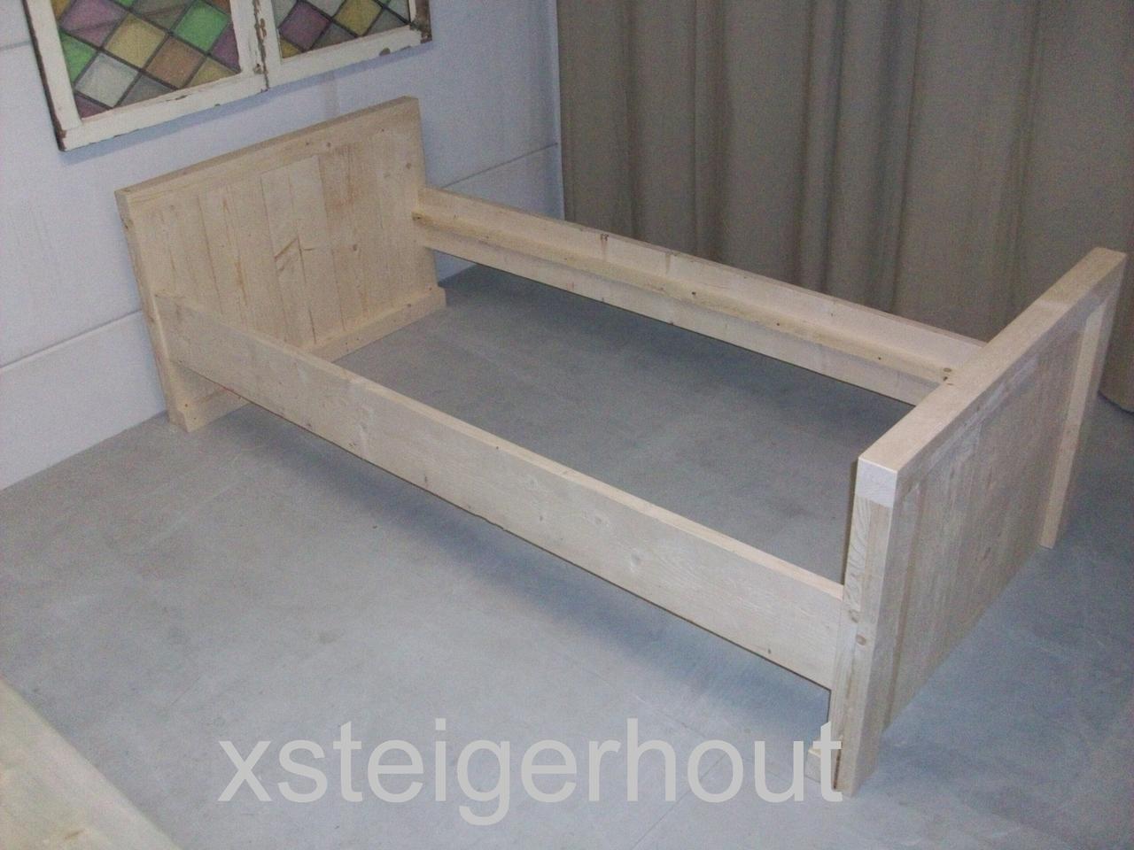 Betere Steigerhout bed bouwpakket - xsteigerhout UJ-18