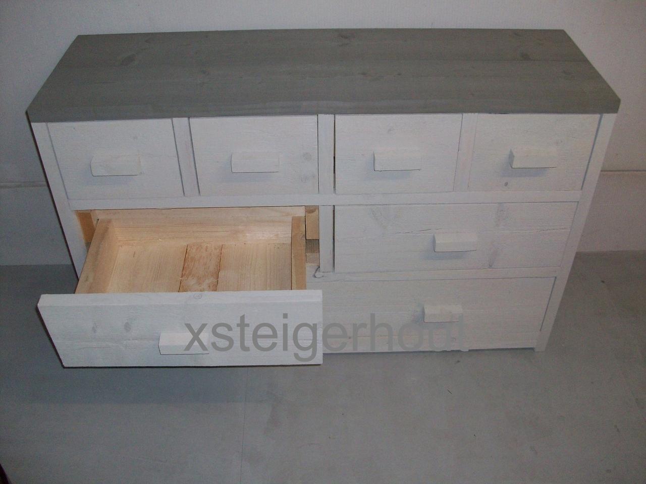 Buffetkast Steigerhout Bouwpakket