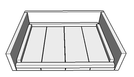 Steigerhout armleuning binnenkant