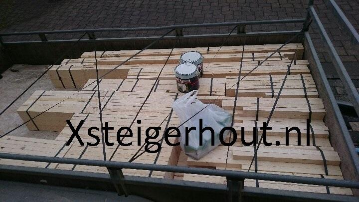 Loungeset bouwpakket in een aanhanger