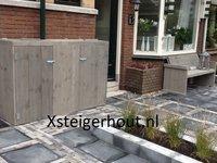 Kliko ombouw en tuinbank steigerhout