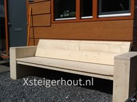 Loungebank tuin bouwpakket