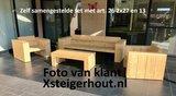 Zelf samengesteld set lounge diep klantfoto