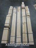 Bouwpakket steigerhout hoekbank met opbergruimte