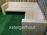 hoekbank steigerhout