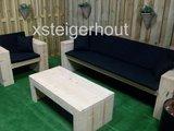 loungeset steigerhout met loungetafel