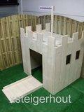 speelhuisje kasteel zijkant