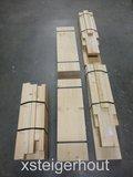 Bouwpakket loungestoel steigerhout