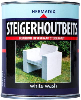 Steigerhout-beits-white wash-750ml
