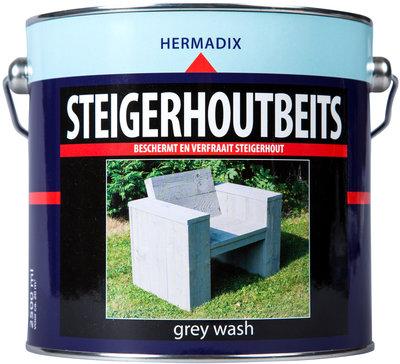 Steigerhout-beits-grey wash-2500ml