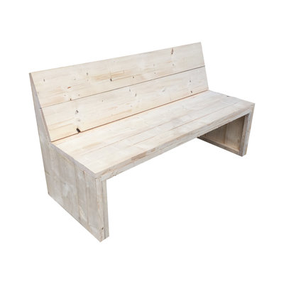 Eetbankje steigerhout bouwpakket