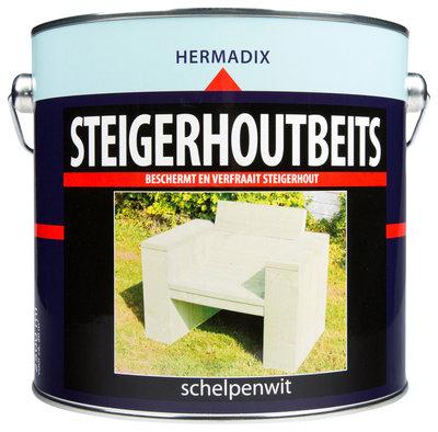Steigerhoutbeits-Schelpenwit-hermadix-2500ml