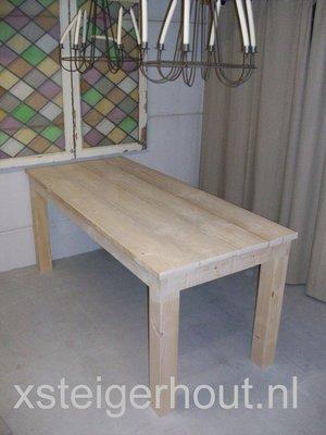 Steigerhouten tafel bouwpakket