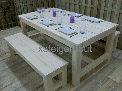 Tuinset steigerhout bouwpakket