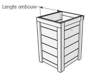 Lengte kliko / container ombouw