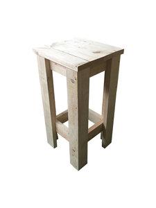 Barkruk steigerhout bouwpakket