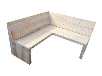 Eethoekbank steigerhout bouwpakket xsteigerhout