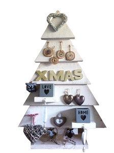 Bouwtekening Kerstboom Steigerhout.Kerstboom Steigerhout Bouwpakket 19 Xsteigerhout