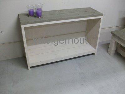 Smalle Sidetable 20 Cm Diep.Smalle Steigerhout Side Table Bouwpakket Xsteigerhout
