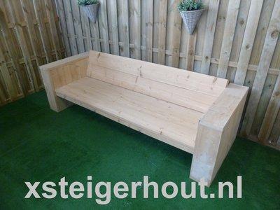 Kussen Op Maat : Steigerhout loungebank op kussen maat. xsteigerhout