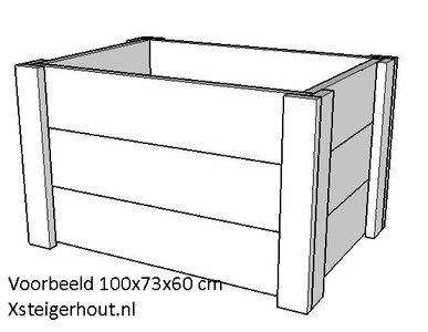 Plantenbak 100x73x60cm lxbxh