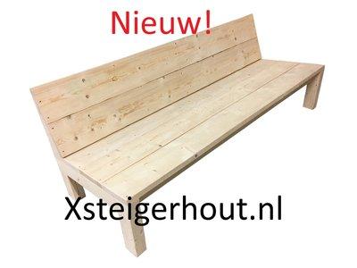 Steigerhout bank