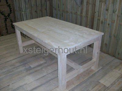 Steigerhout tafel kloostertafel op maat xsteigerhout for Steigerhout op maat