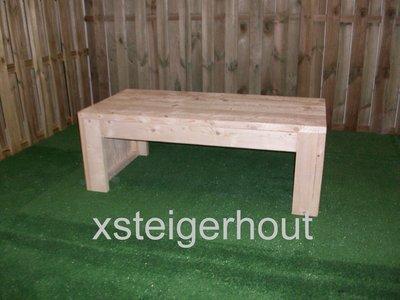 Loungetafel steigerhout bouwpakket xsteigerhout for Bouwpakket steigerhout