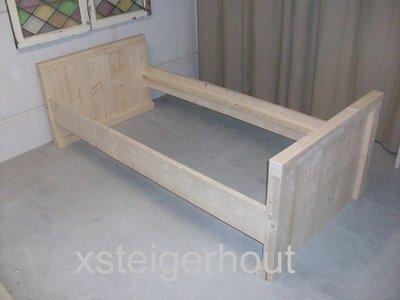 Steigerhout bed bouwpakket xsteigerhout
