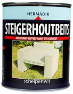 Steigerhout beits schelpen wit blik 0,75 liter