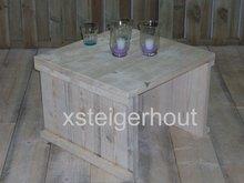 Tafeltje steigerhout