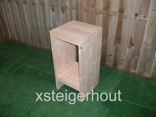 Barkruk steigerhout